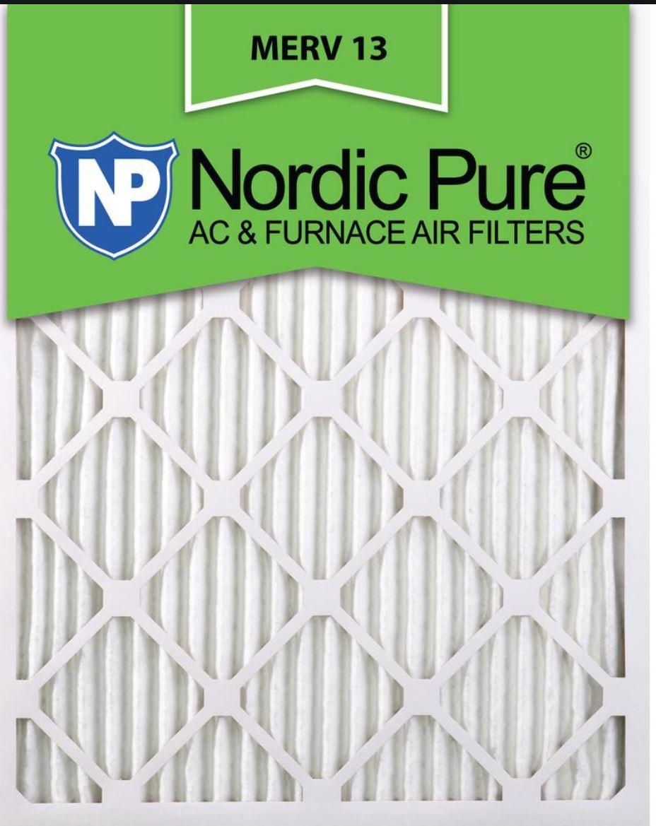 air filter MERV 13
