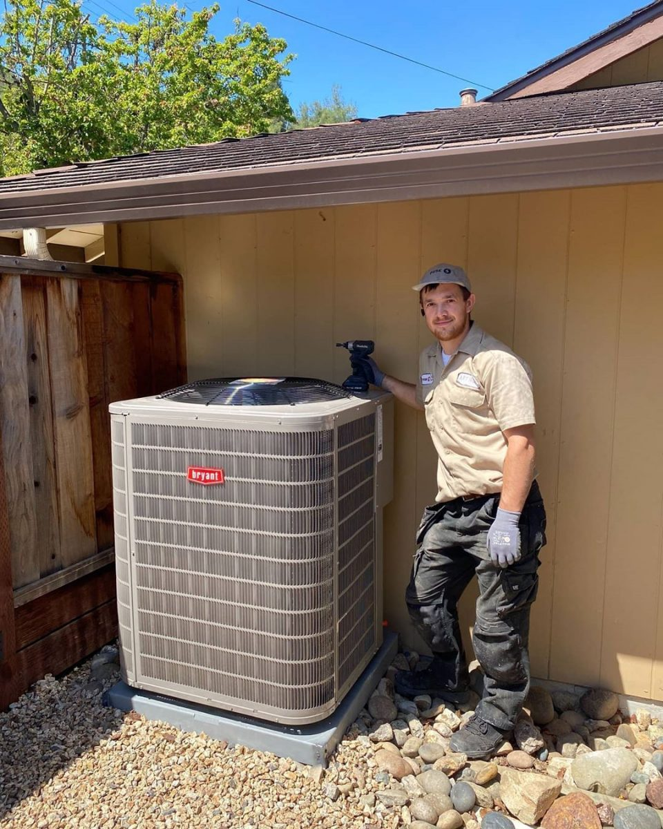 Dual fuel - gas furnace-heat pump combination by #Bryant 2 stage for cool/2 stage heat pump, 2 stage alternative fuel (gas) heat. Fully tested, works great!