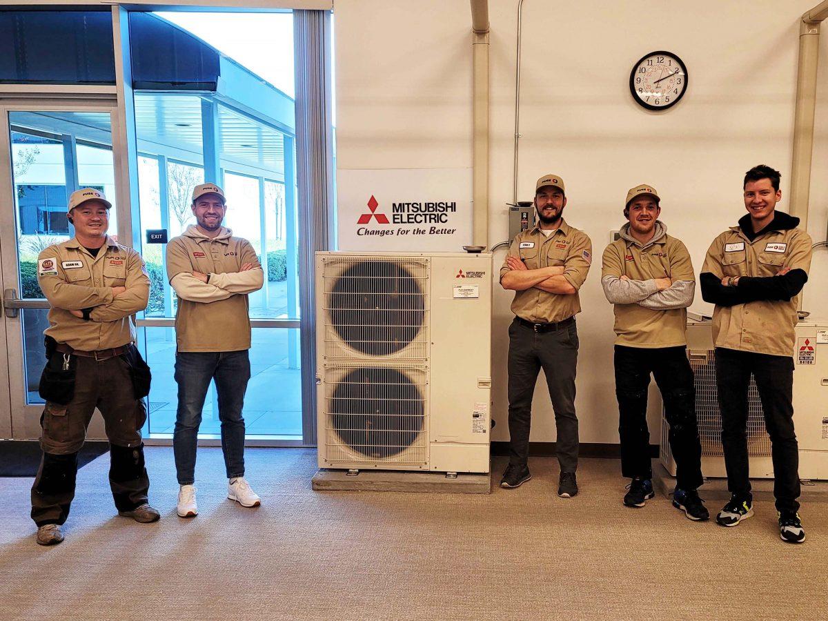 Mitsubishi training for Diamond Contractor in LA, CA