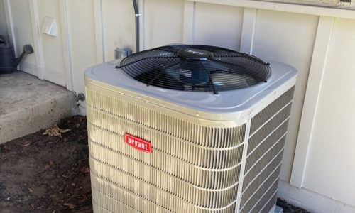 HVAC 127ANA036000 system installation in Campbell, California.