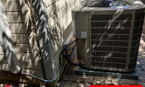 HVAC 127ANA048000 system installation with replacement in Palo Alto, California