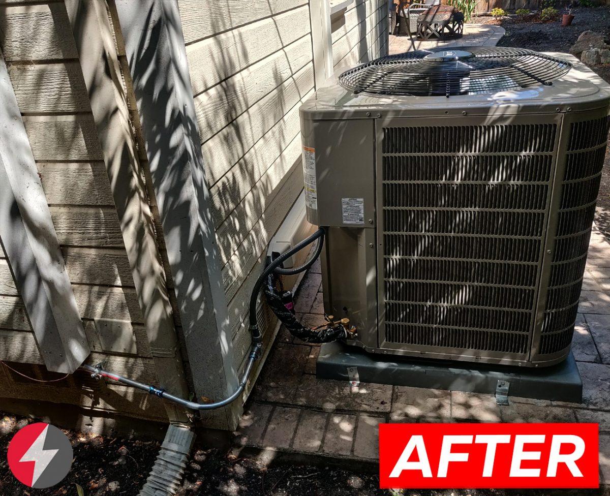 HVAC 127ANA048000 system installation