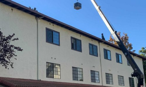Heat Pump System Replacement in an apartment complex, Sunnyvale, California